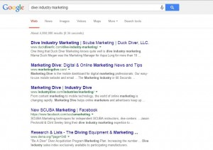 Dive Industry SEO | Search Engine Optimization