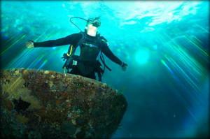 Diving is magic
