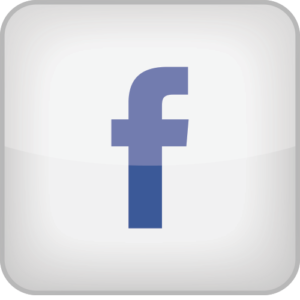 facebook icon square white