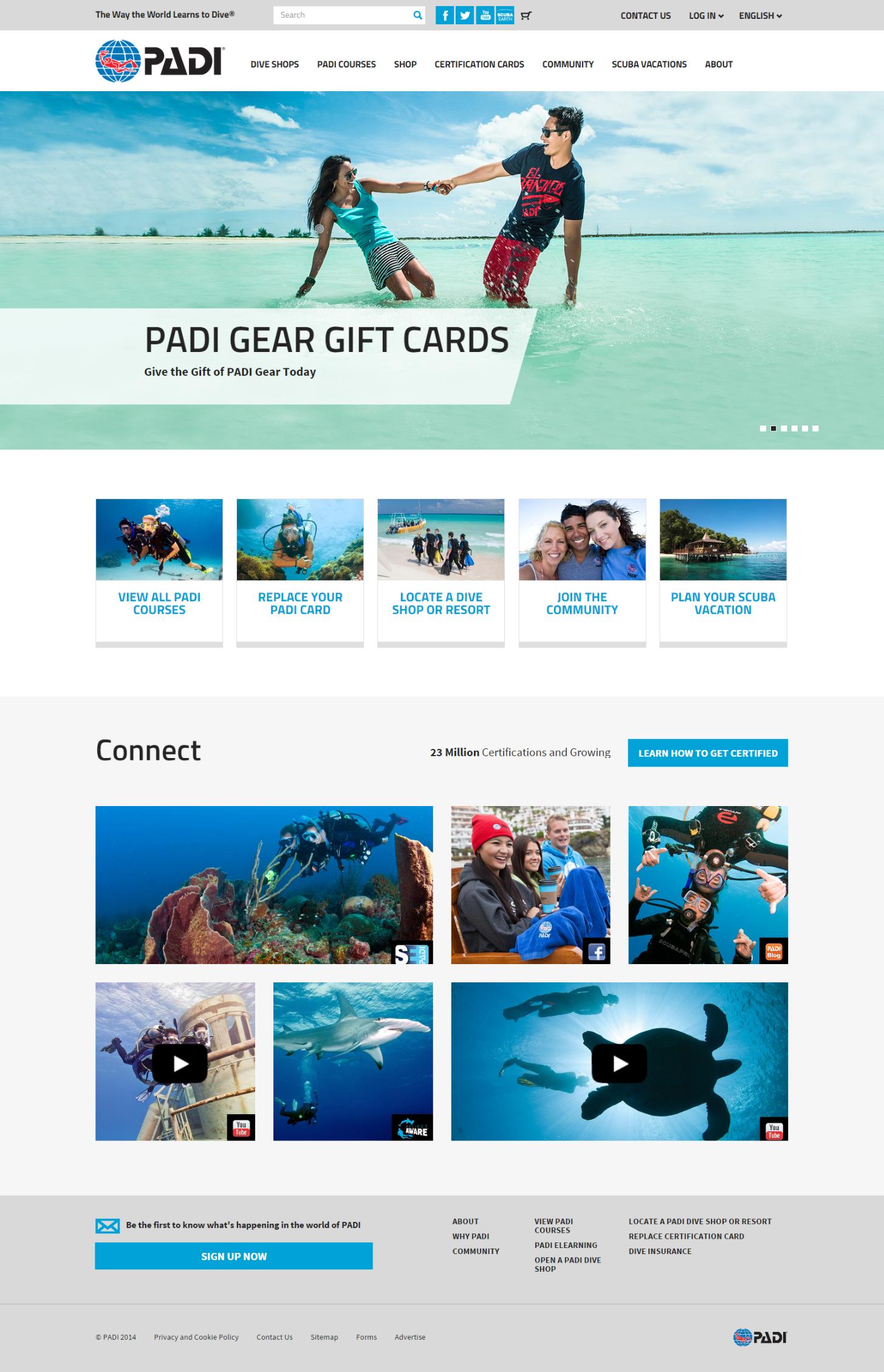 PADI.com