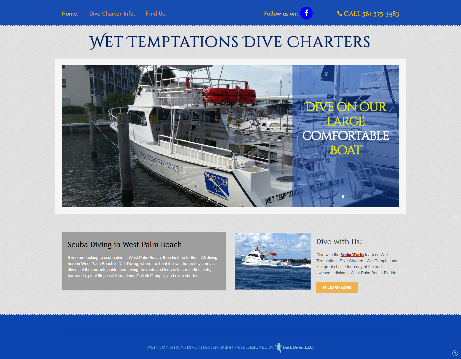 Wet Temptations Dive Charters