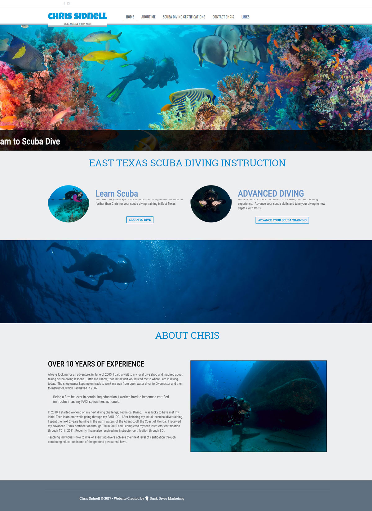 East TX Diver