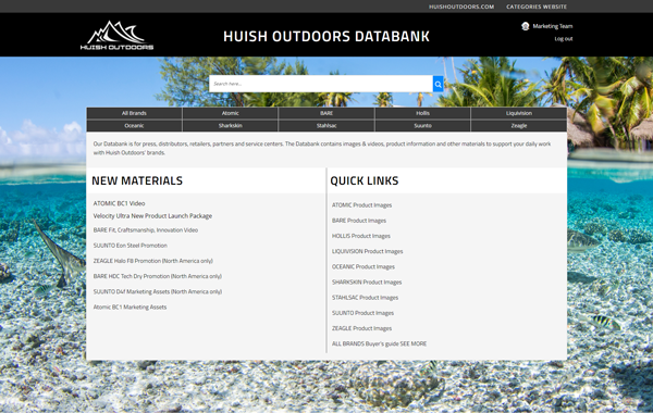 Huish Outdoors Databank
