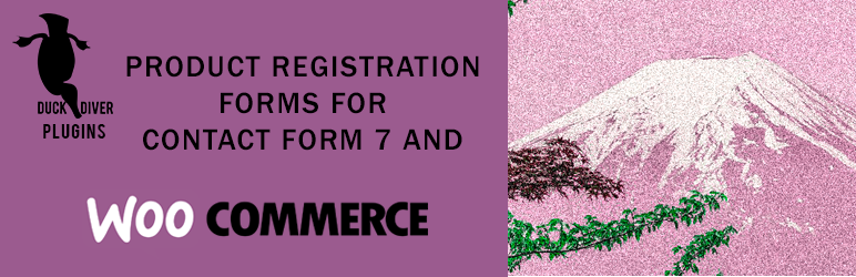 Easy Product Registration Forms for WooCommerce with Contact Form 7