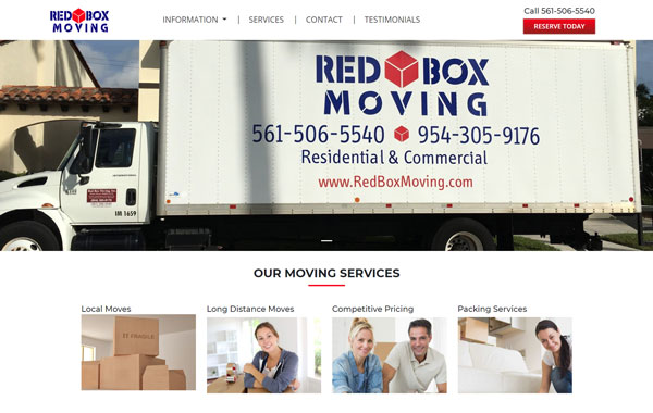 Red Box Moving